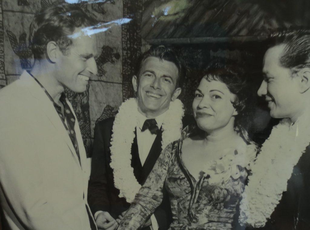 Charlton Heston, Frank, Mary, Norman