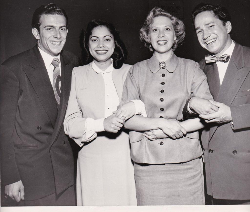 Frank, Mary, Dinah Shore, Norman