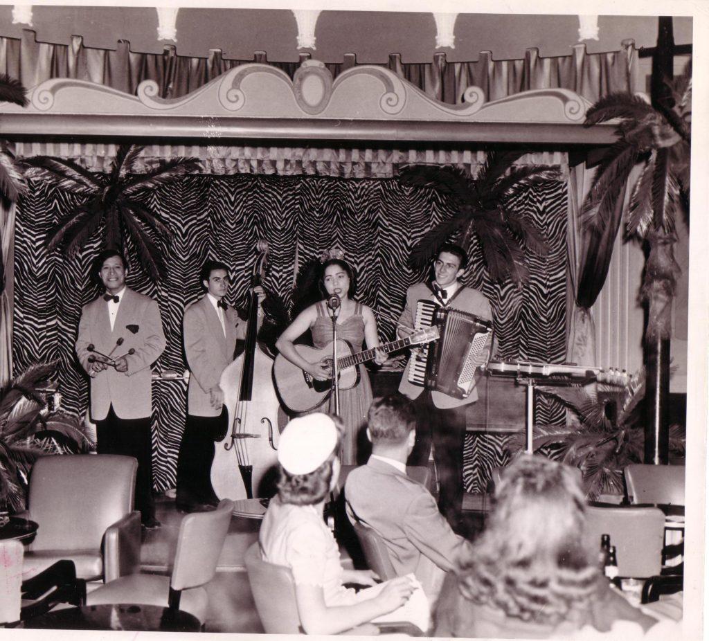 """Johnny Kaaihue & """"The Royal Hawaiians"""" 1942 -Mary & Frank"""