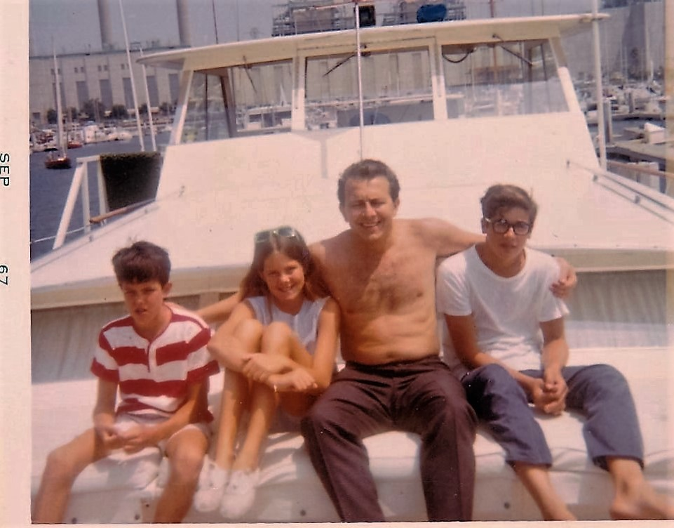 1967 Redondo beach Frankie, Shal Frank, Toby