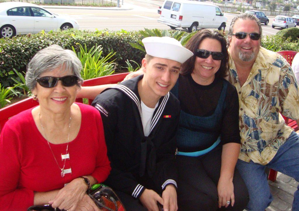 Gloria, Alex, Jaydee & Frank