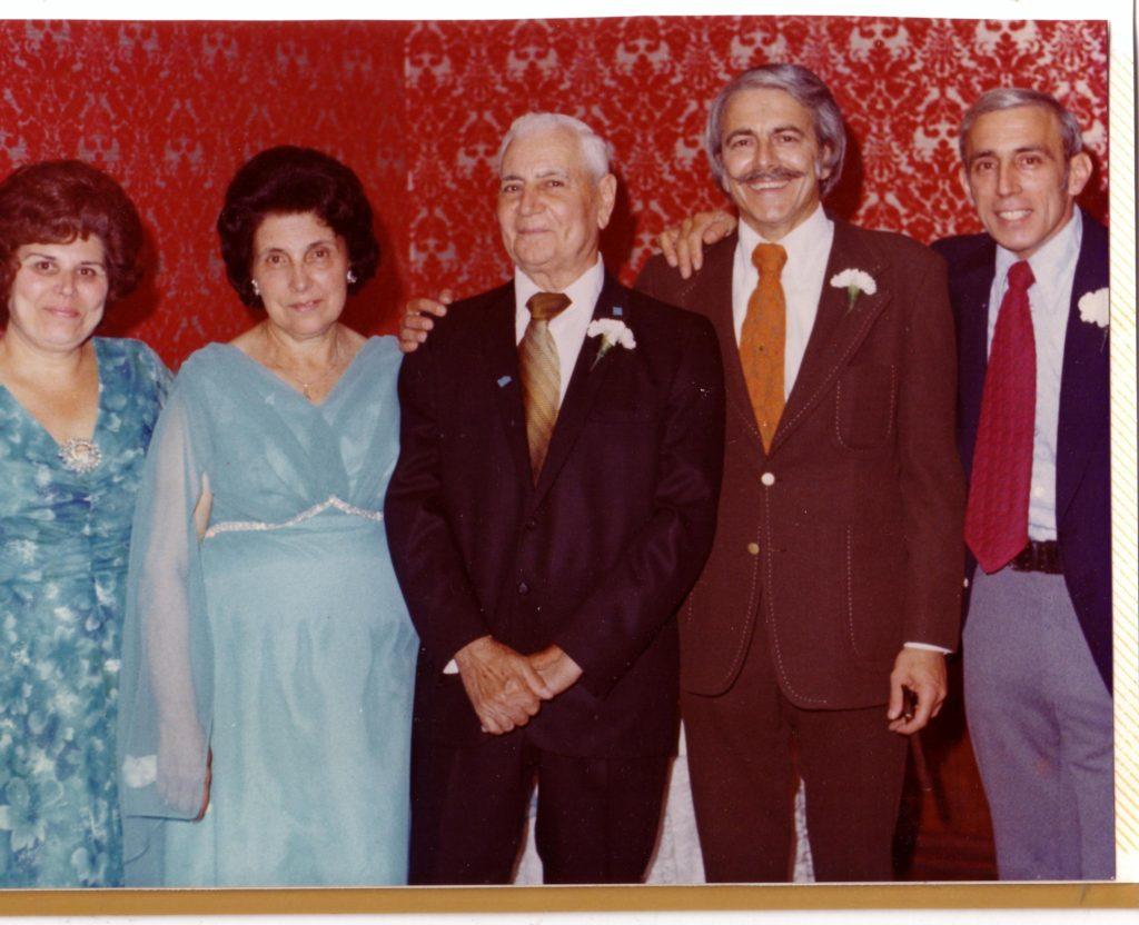 Angie, Mariana,, Carmello, Frank, Chuck
