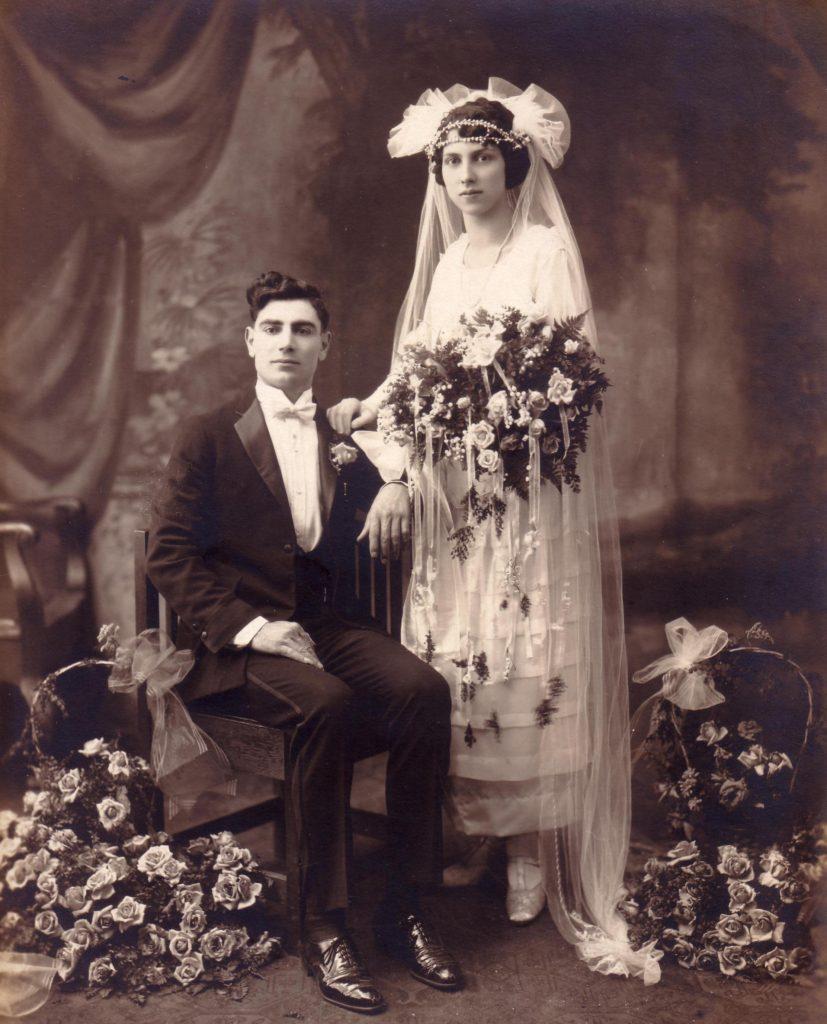 Carmello & Marianna Blogna ( Frank's parents ).1924