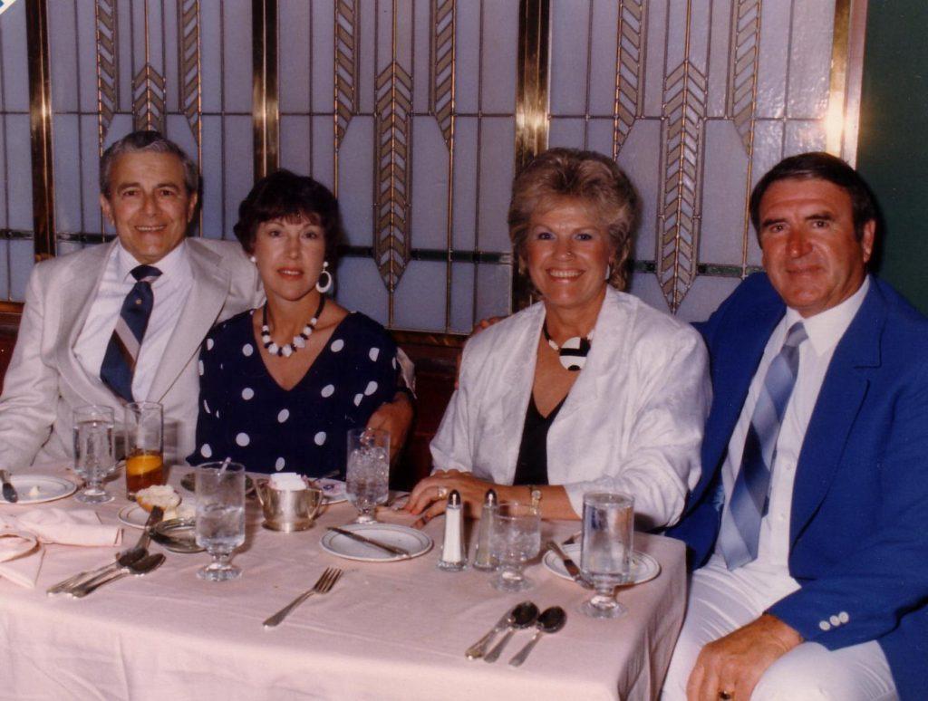 Frank & Betty, Imo & Eric Sharman ..Hawaii Cruise