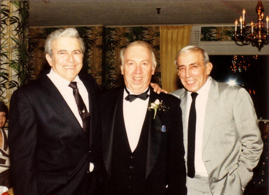 Frank, Ross, Chuck