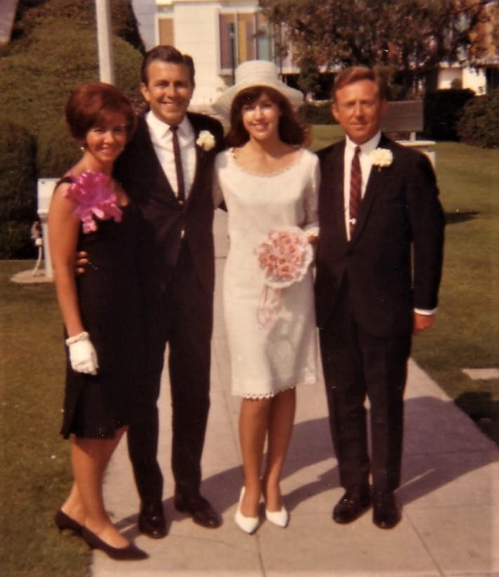 Wedding June, 1966 With Jack Rosenthal