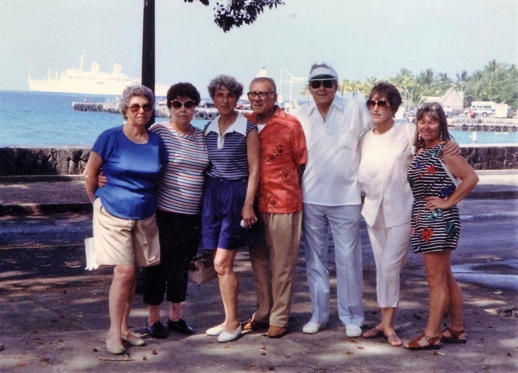 Sarah, Angie, Teresa, Tony, Frank, Betty, Patti Kona..Hawaii Cruise